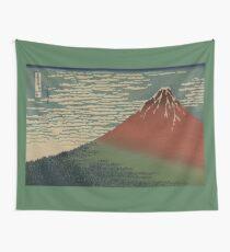 Gaifu kaisei - Hokusai Katsushika - 1890 Wall Tapestry