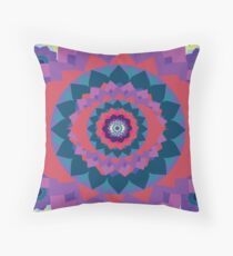 Chakra mandala Throw Pillow
