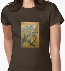 Dragonfly Haze Womens Fitted T-Shirt
