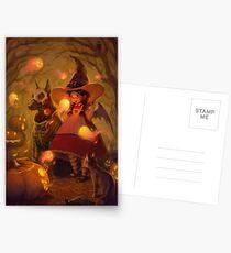 Spirits of Halloween Postcards