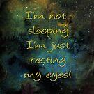 I'm not sleeping by Nicky Stewart
