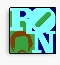 Ron Love (b) Canvas Print