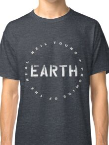 ADS2 Neil Young Earth REBEL CONTENT Tour 2016 Classic T-Shirt