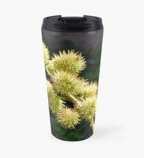 Natural green branch with spikes Travel Mug