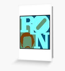 Ron Love (c) Greeting Card
