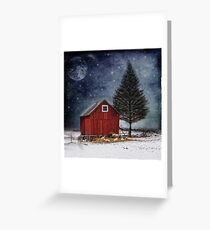 all is calm, all is bright... Greeting Card