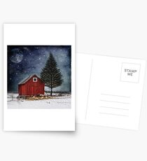 all is calm, all is bright... Postcards