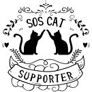 SOS Cat Supporter by bsilvia
