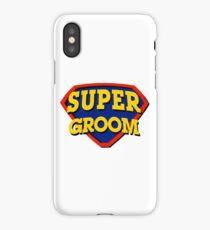 Super Groom iPhone Case