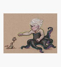 Little Ursula (and a poor unfortuante soul) Photographic Print