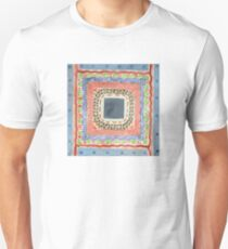 Decorated Gray Central Square T-Shirt