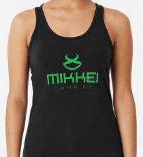 MIKKEI-Mähdrescher (groß) Racerback Tank Top