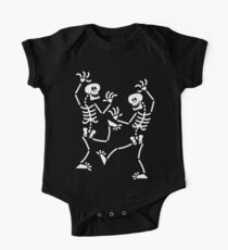 Dancing Skeletons One Piece - Short Sleeve