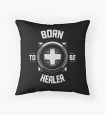 Born to be healer Throw Pillow