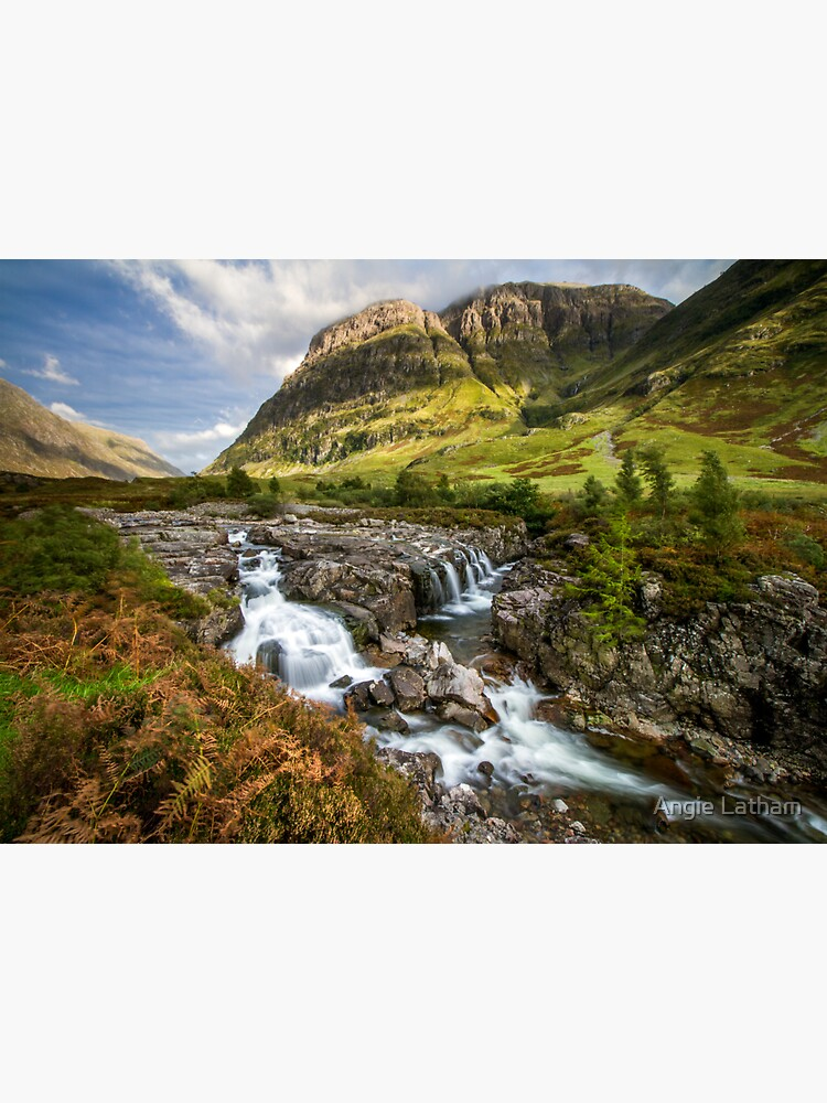 Falls of Glencoe Highlands of Scotland by AngelaBarnett