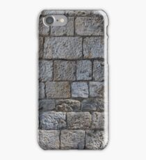 Ancient stone wall iPhone Case/Skin