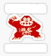 Gorilla strength Sticker