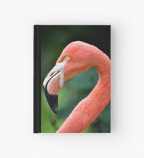 Flamingo Bird Hardcover Journal