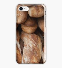 Crusty French bread iPhone Case/Skin