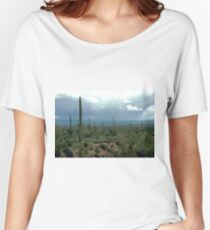Arizona Desert and Cactuses  Women's Relaxed Fit T-Shirt