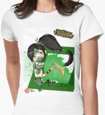 Chibi Akali Women's Fitted T-Shirt