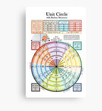Unit Circle Metal Print