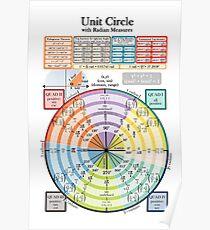 Póster Circulo unitario
