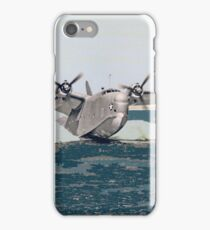 "Martin PBM-3 ""Mariner"" on Test Flight iPhone Case/Skin"