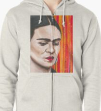 Frida in Colorland Zipped Hoodie