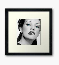 Mrs. Jovovich Framed Print
