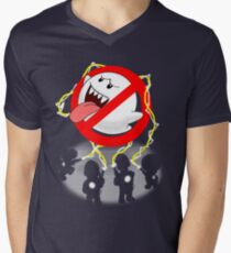 Boo Busters Men's V-Neck T-Shirt