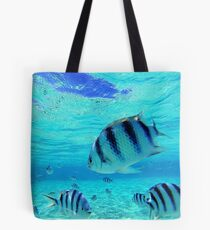 Something Fishy Going On Here Tote Bag