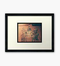 Gambler's Saloon Framed Print