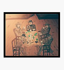 Gambler's Saloon Photographic Print