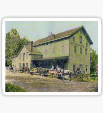 Wadsworth Mill - Avon NY, 1910 Sticker