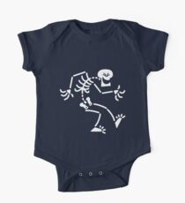 Naughty Skeleton One Piece - Short Sleeve