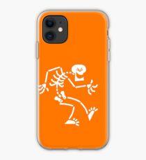 Naughty Skeleton iPhone Case