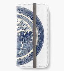 China Blaue Weide iPhone Flip-Case/Hülle/Klebefolie