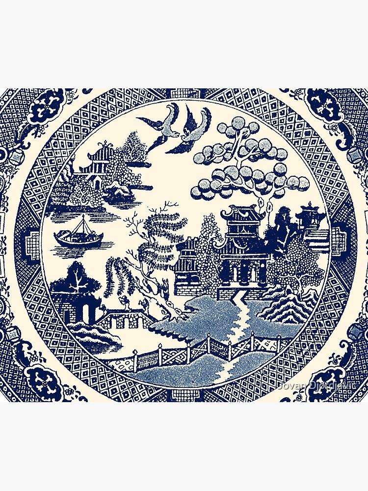 China Blue Willow by jovandjordjevic