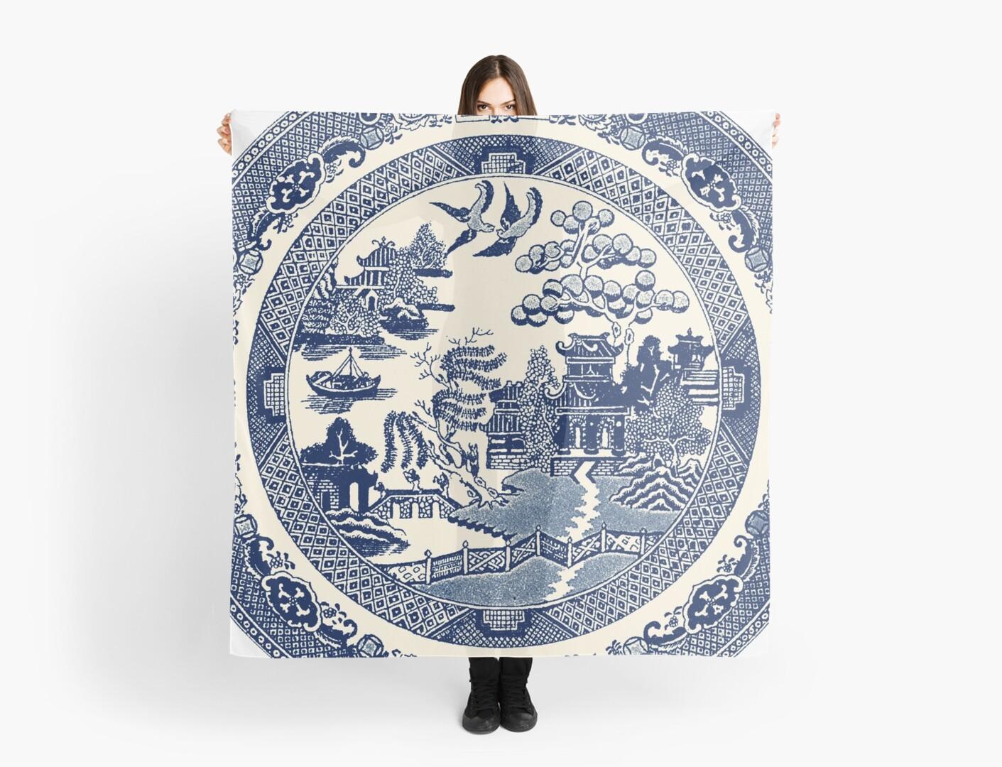 China Blue Willow by Jovan Djordjevic