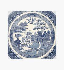 China Blaue Weide Tuch