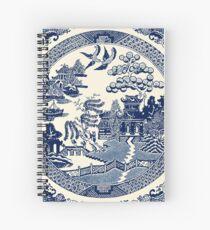 China Blaue Weide Spiralblock