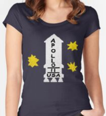 Danny Torrance Apollo 11 Sweater  Women's Fitted Scoop T-Shirt