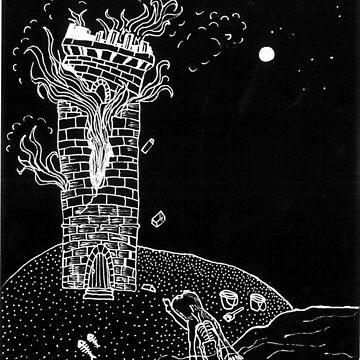 Burning Tower Prayer by raelanh