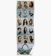 Defiance Illustration Series Poster