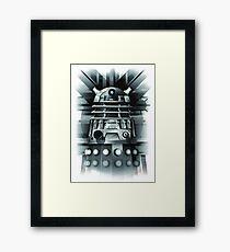 Dalek- Dr who Framed Print
