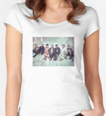 BTS Wings ComeBack v2 Women's Fitted Scoop T-Shirt