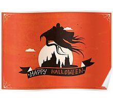 Dementor - HP Halloween Card Poster