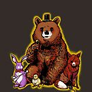 Five Nights in the Forest by ninjaink