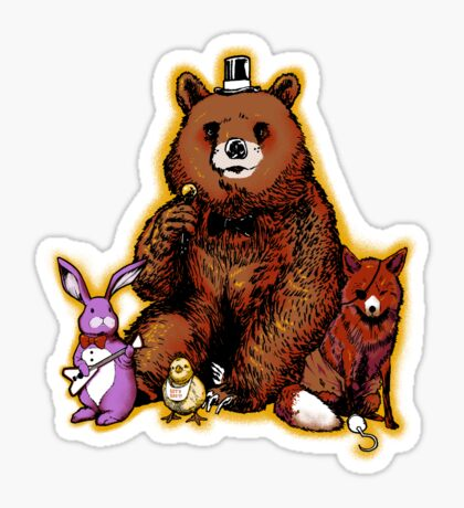 Five Nights in the Forest Sticker